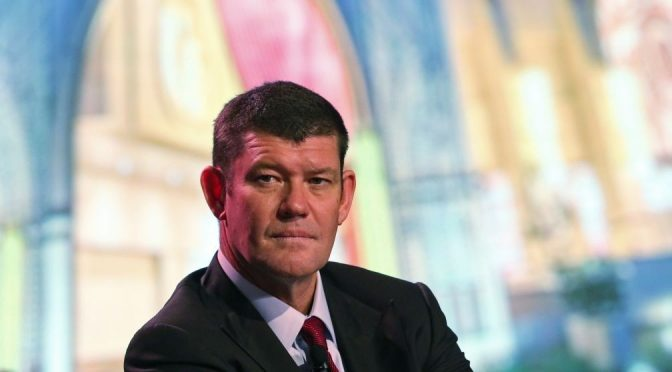 James Packer May Have to Cut His Stake in Crown Resorts and Will Never Rejoin the Board
