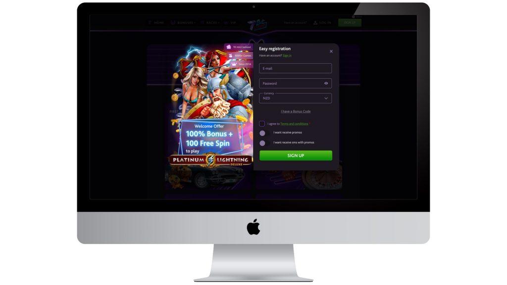 7Bit Casino Sign Up