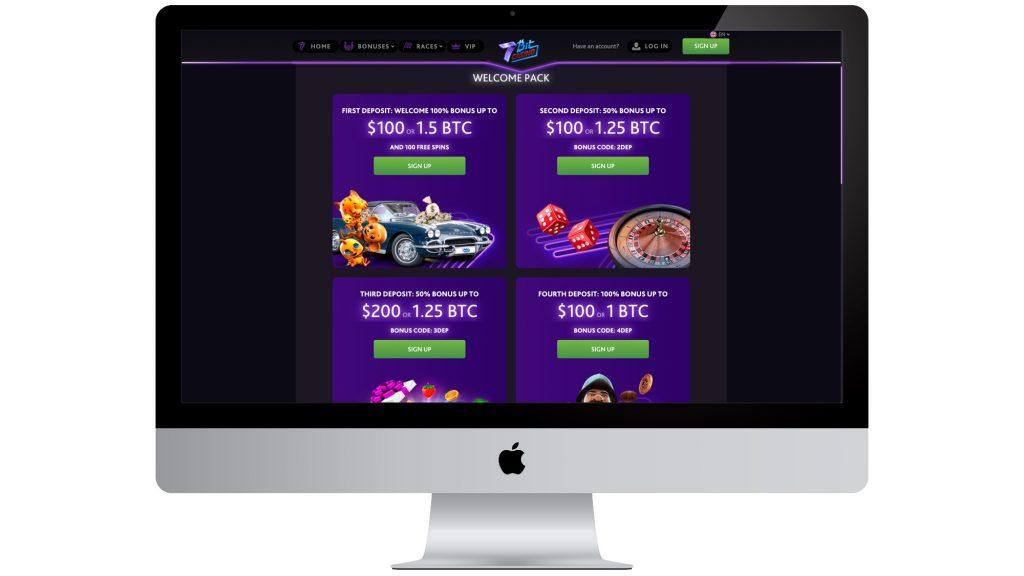 7Bit Casino Welcome Bonus