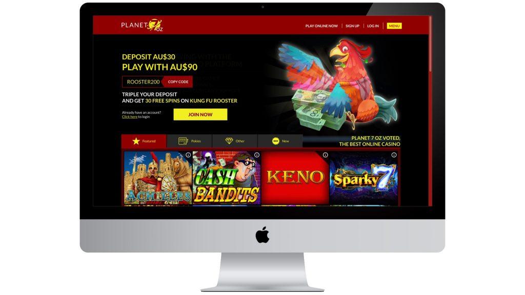 Planet7 oz Homepage